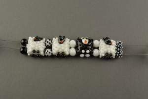 Two-hole Sheep and spacers